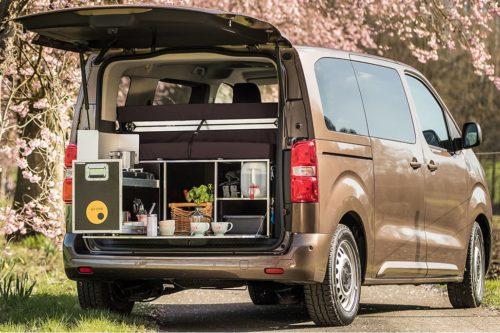 Toyota Proace Verso mit QUQUQ MidiBox
